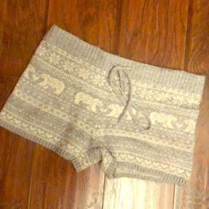 Aerie sweater shorts s